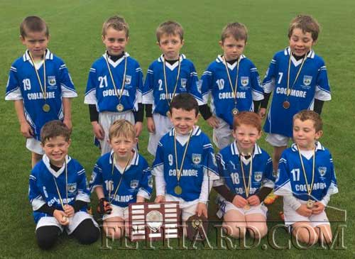 Fethard's successful U7 team after winning in the David Boland Tournament at Monroe. Team: Sean Thompson, Miceal O'Rahilly, Troy Delaney, Lee Delaney, Alec Knightly, Tadhg Cuddihy, Kelvin Ryan, Sam Coen, Daniel Barry and Oliver Woodlock.