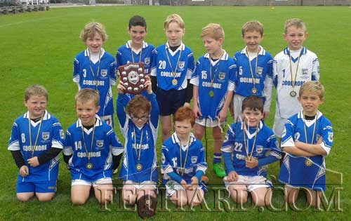 Fethard U8 boys team, winners in the David Boland Tournament at Monroe. Team: Sean McEvoy, Gavin Neville, Criostoir Sheehy, Noah O'Flynn, Ben Allen, Charlie Walsh, Danny Shelly, Paddy Ryan, Zach Smith, Rory O'Mahoney, Sami Laaksonen and TJ Keane.