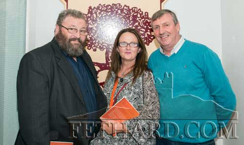 Photographed at the book launch L to R: L to R: Tommy Keane, Mary Myler and Pat Sheehan.