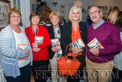 Photographed at the book launch L to R: L to R: Teresa (McCarthy) Morrissey, Mary Byrne, Theresa Kelly, Geraldine and Michael McCarthy.