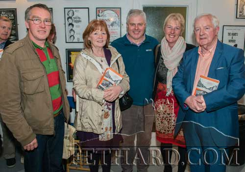 L to R: Martin O'Shea, Mary Hanrahan, Tommy O'Brien, Liz O'Brien and Michael Coady.
