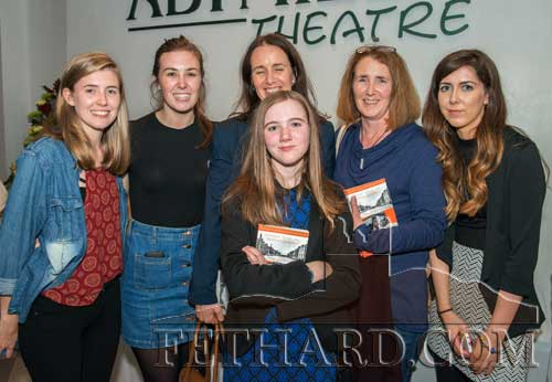 L to R: Aisling Whelan, Niamh Whelan, Rita Cronnolly and her daughter Jenny Cronnolly in front, Madeline Whelan and Maryanne Fogarty.