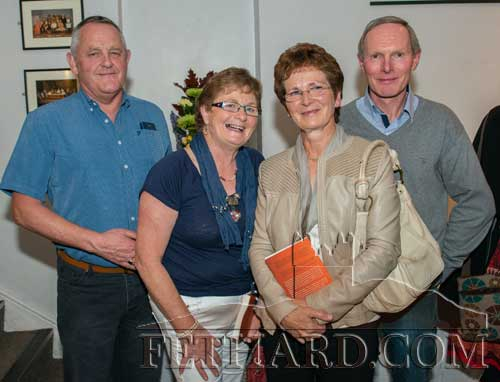 Photographed at the book launch L to R: Sean Doyle, Judy Doyle, Theresa O'Brien and Liam O'Brien.