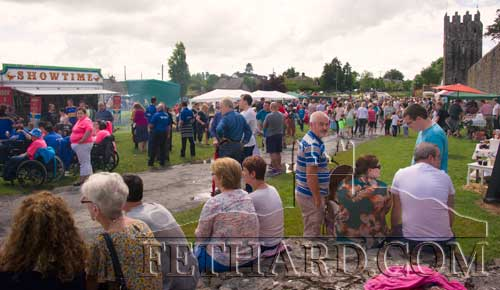 Thousands enjoying this year's Fethard Festival 'Family Fun Day'.