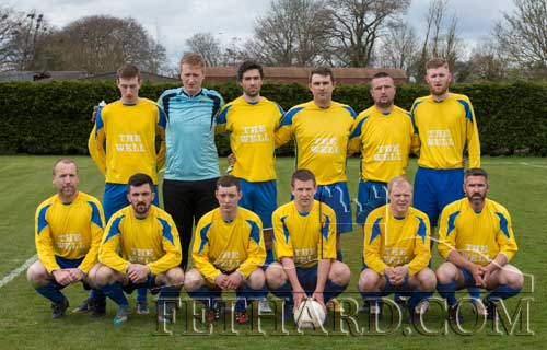 Killusty FC team beated by Mullinahone in the Peter O'Reilly Cup Final on Sunday April 24.